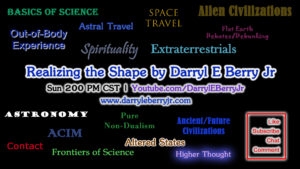 Realizing the Shape Show by Darryl E Berry Jr